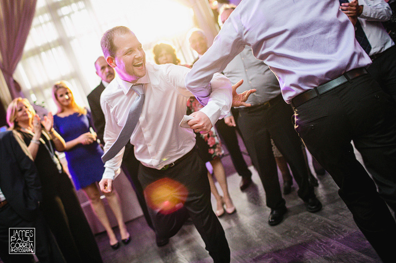 Beth Emeth wedding photographer bride and groom dance