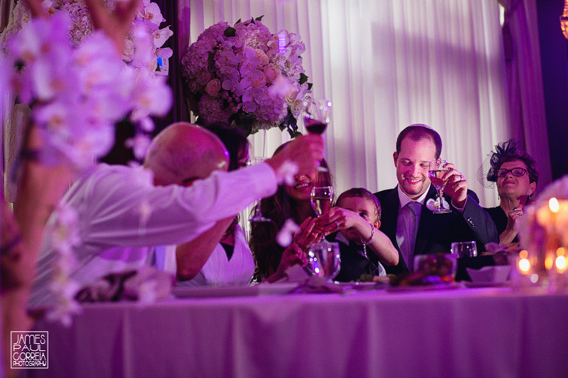 toronto wedding photographer toast