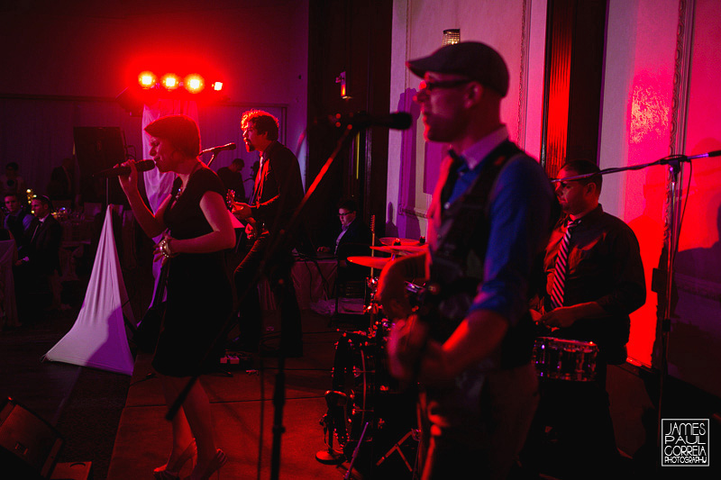 Parkside Drive toronto wedding band