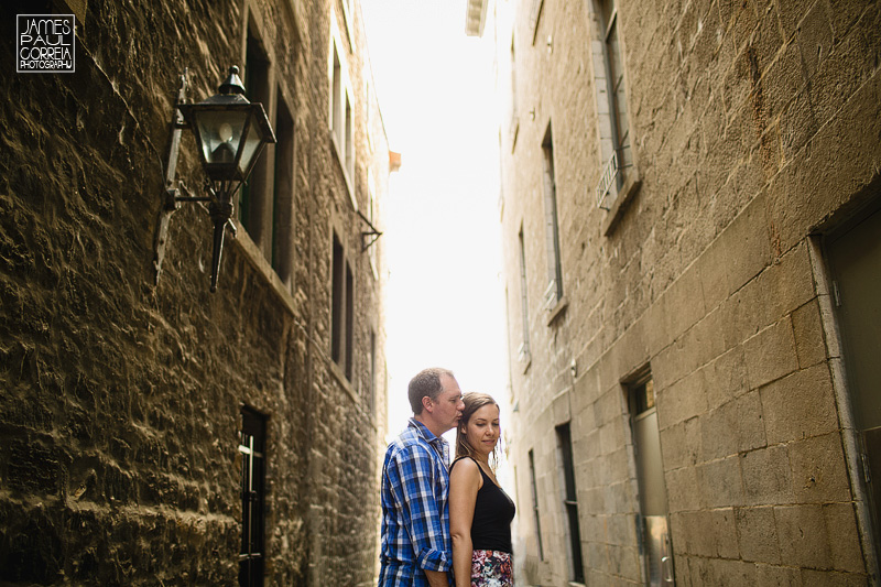 Old port montreal engagement session