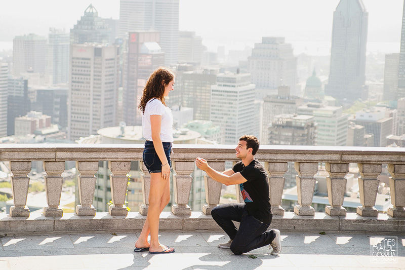 Mount royal montreal surprise proposal