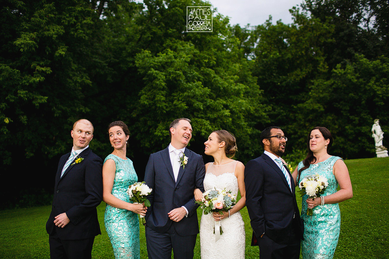rigaud bridal party photographer