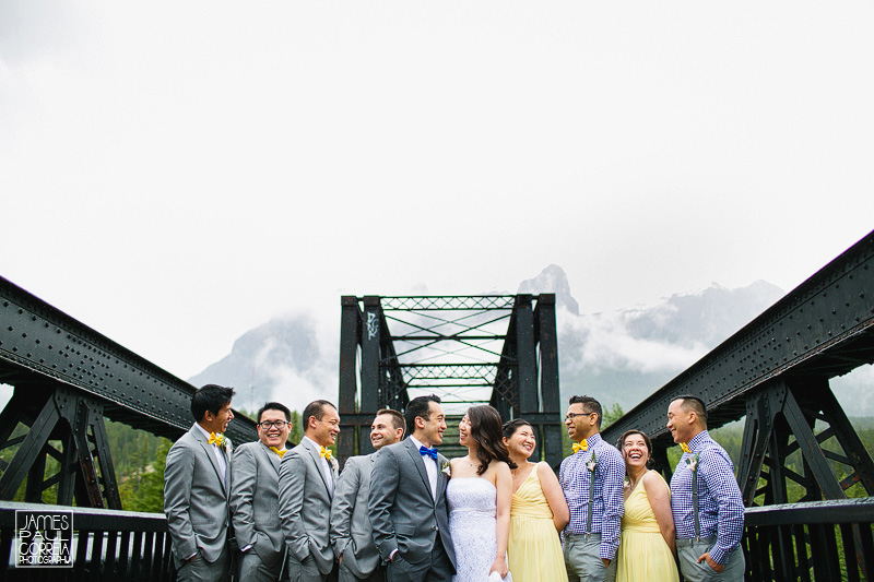 canmore bridge bridal party