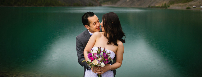 Yan + Gerald : A Rocky Mountain Wedding