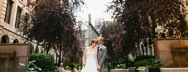 Rebecca + Patrick :: an Intercontinental Montreal Wedding