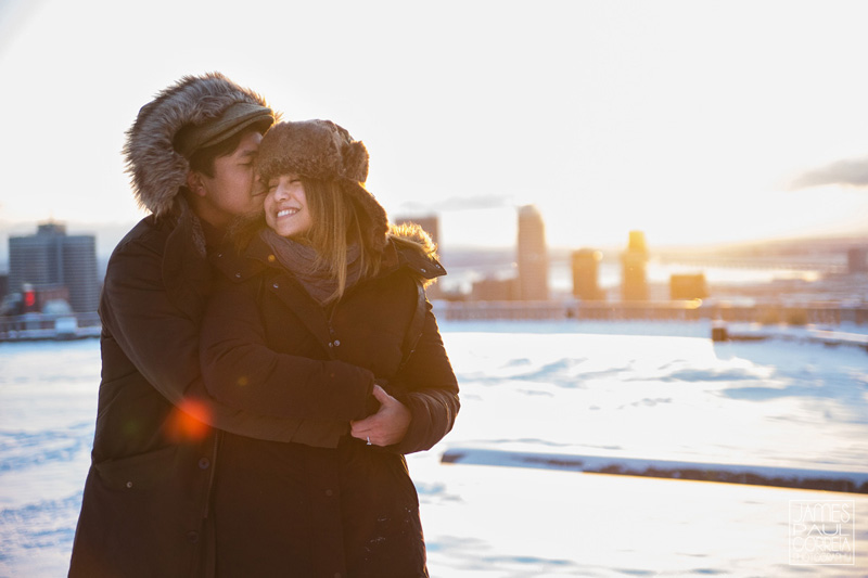 winter sunrise couples Photographer