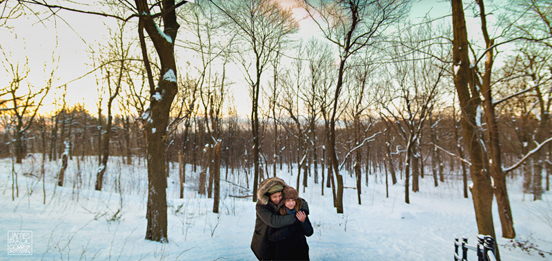Mount Royal Proposal photography