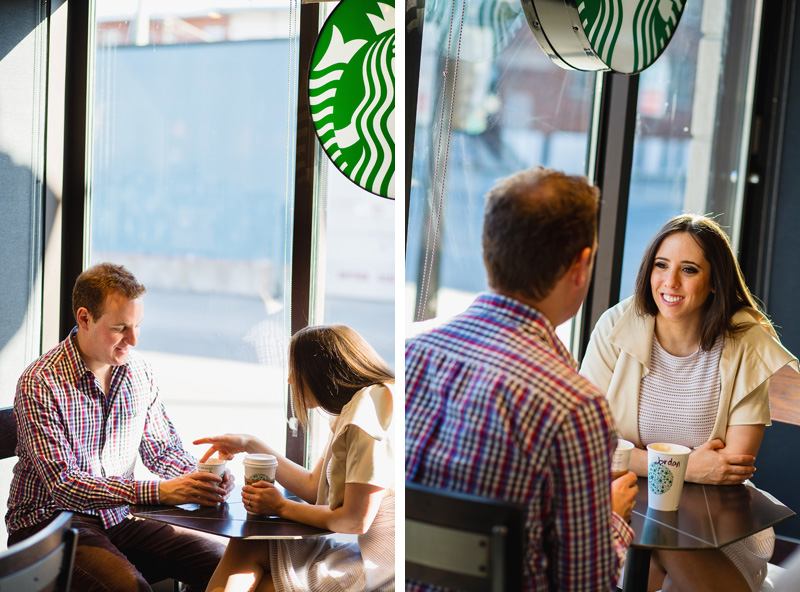 starbuck engagement photographer