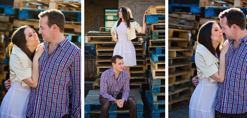 Jean talon market engagement photographer