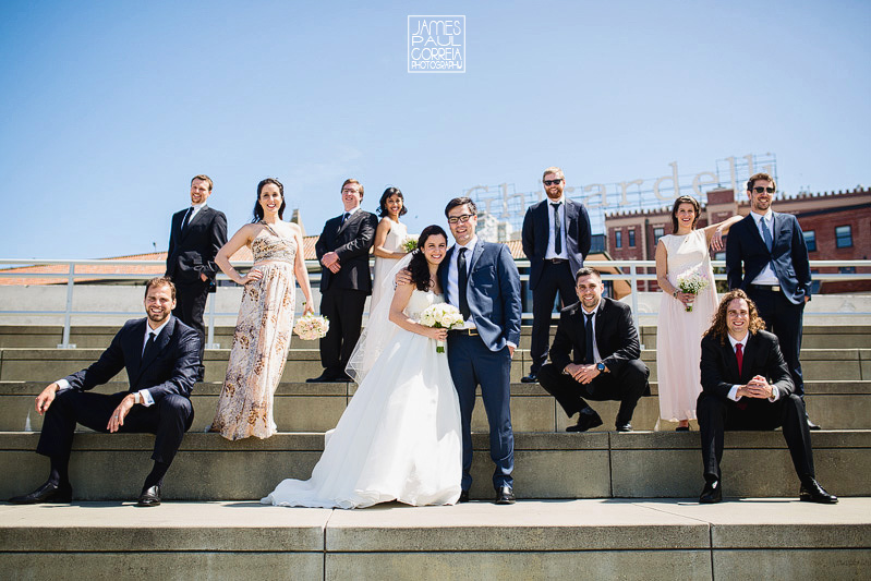 san francisco bridal party wedding photographer