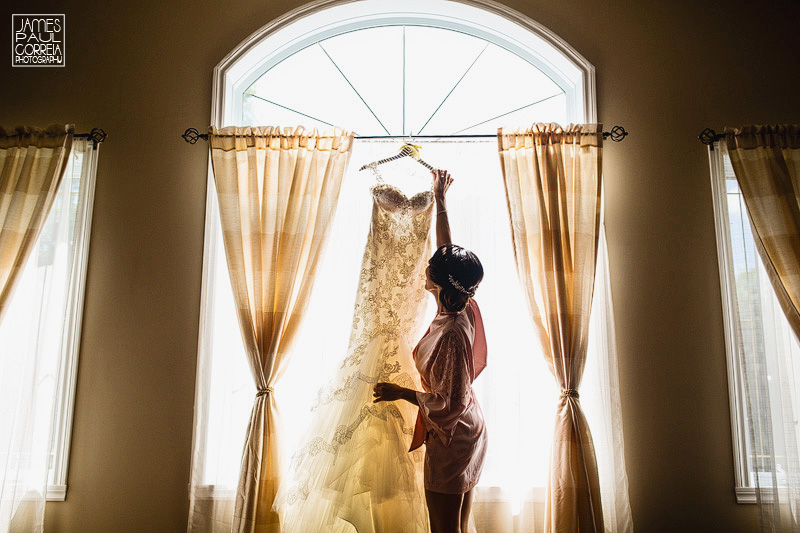 bridal dress photographer