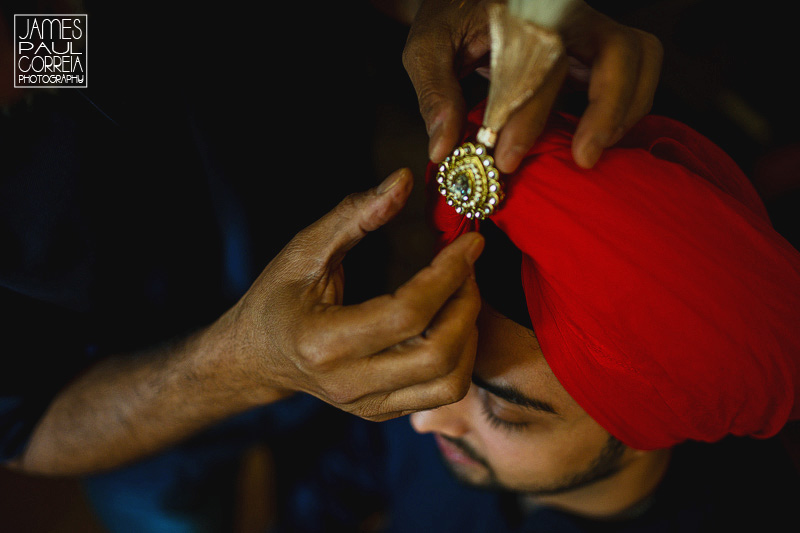 dollard des ormeaux sikh wedding photographer