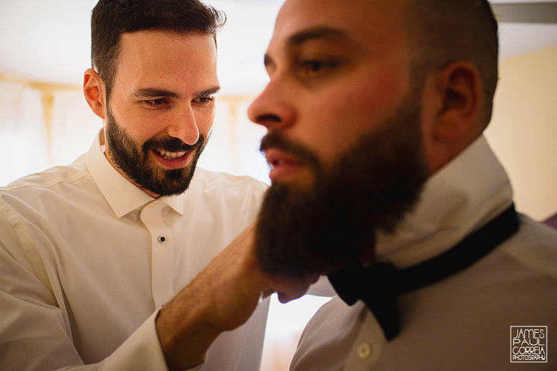 montreal wedding photographer groom prep