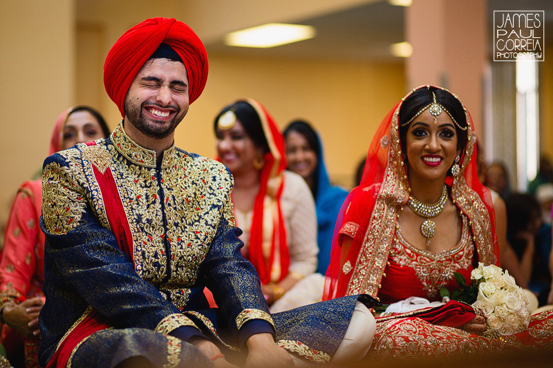 Gurudwara Sahib wedding photographer