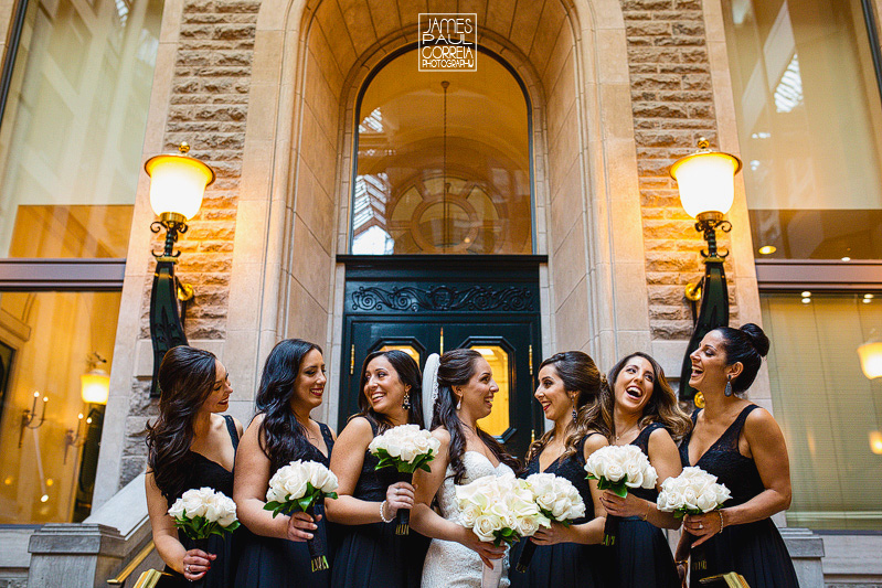 montreal bridal party photo inspiration