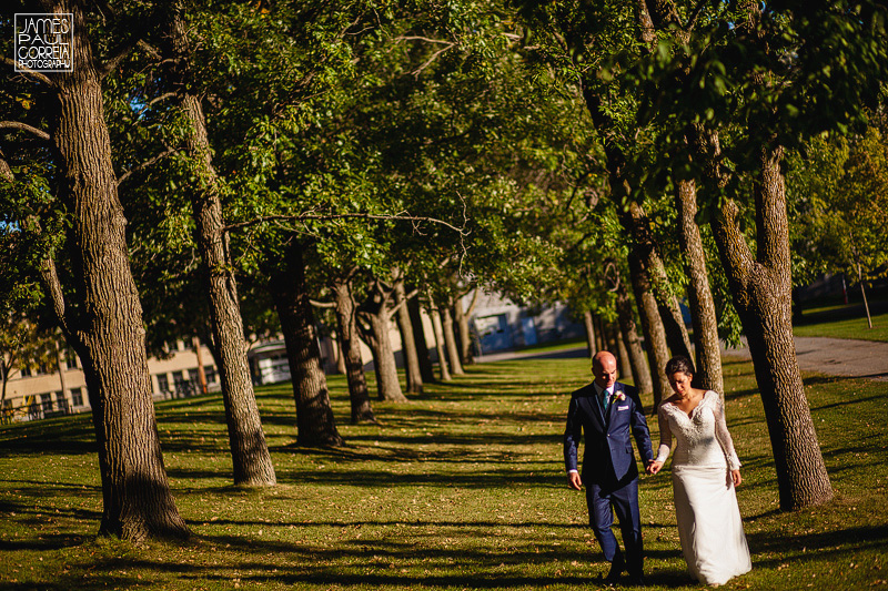 toronto outdoor wedding photos