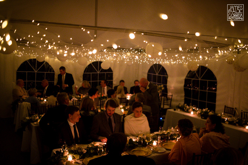 toronto backyard tent reception photographer
