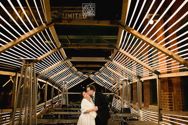 distillery district toronto wedding photography