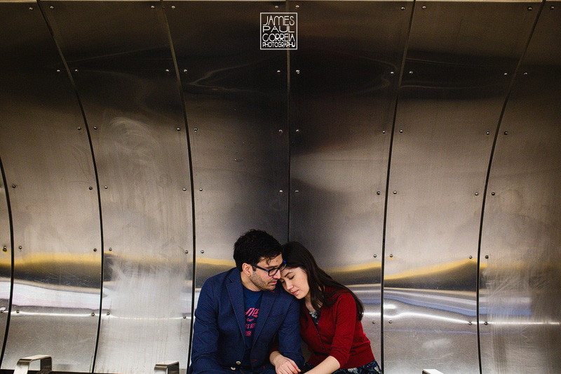 montreal metro engagement photographer