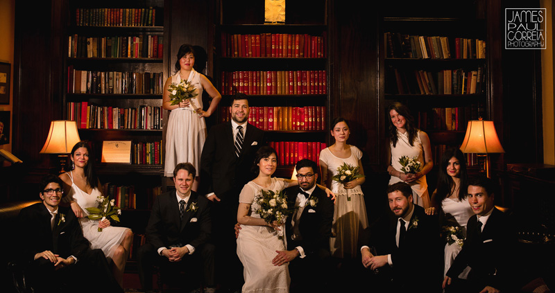 university club of montreal bridal party