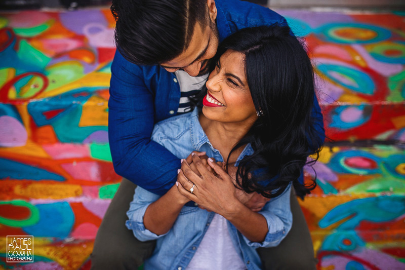kensington market engagement photographer