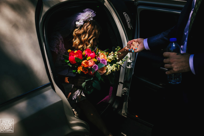 toronto wedding photographer limo
