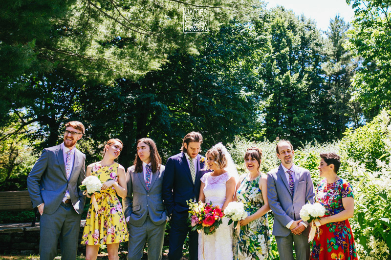 toronto wedding bridal party photographer