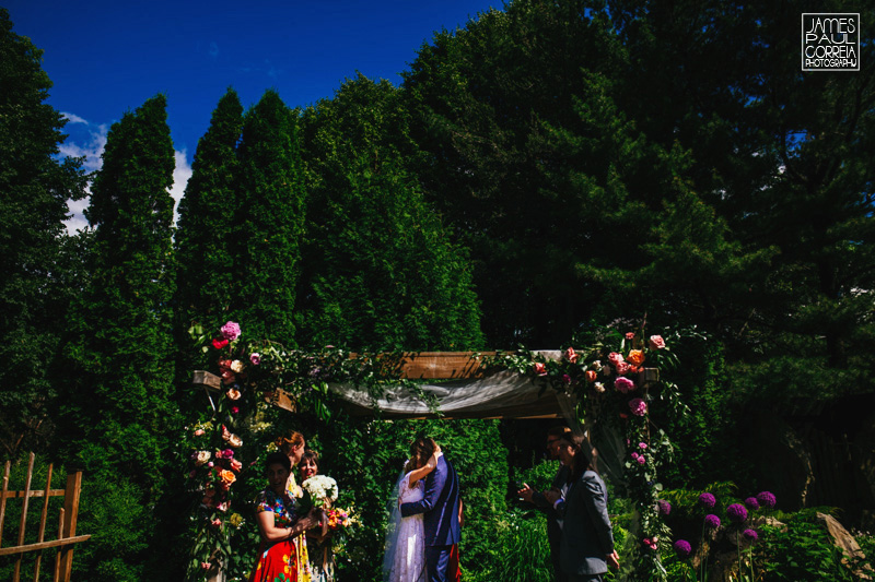 la toundra montreal outdoor wedding ceremony