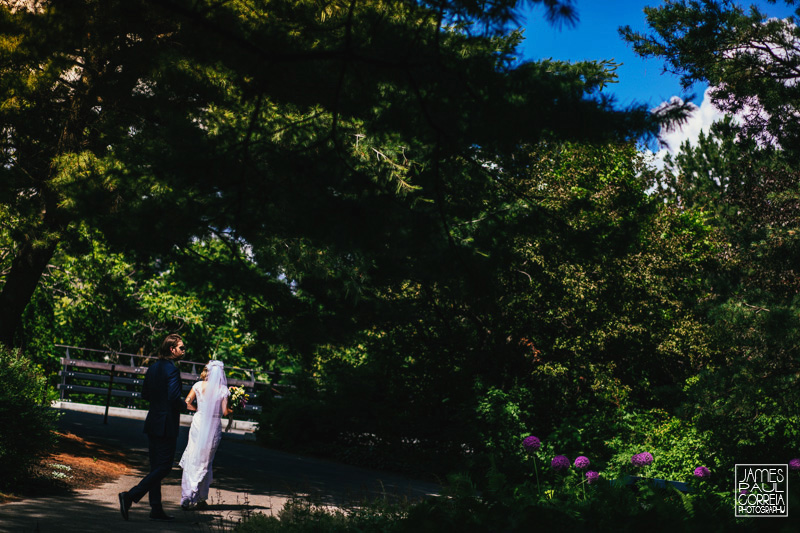 toronto outdoor wedding photographer