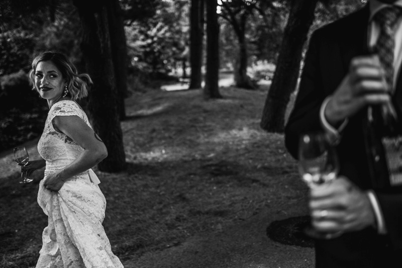 muskoka candid wedding photojournalism