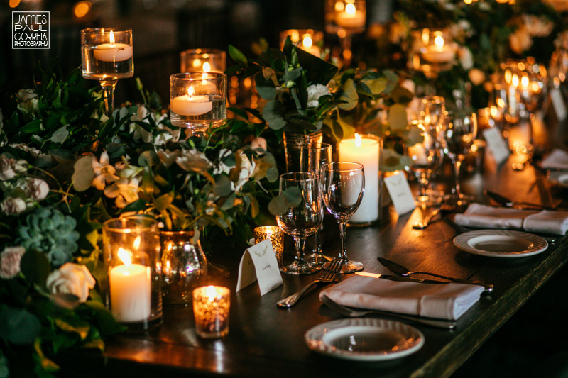 AtoZ event planning table decor