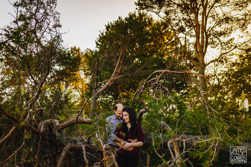 Ashbridges bay park engagement photographer